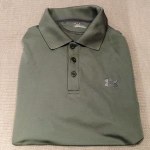 Men's Under Amour Gold Polo